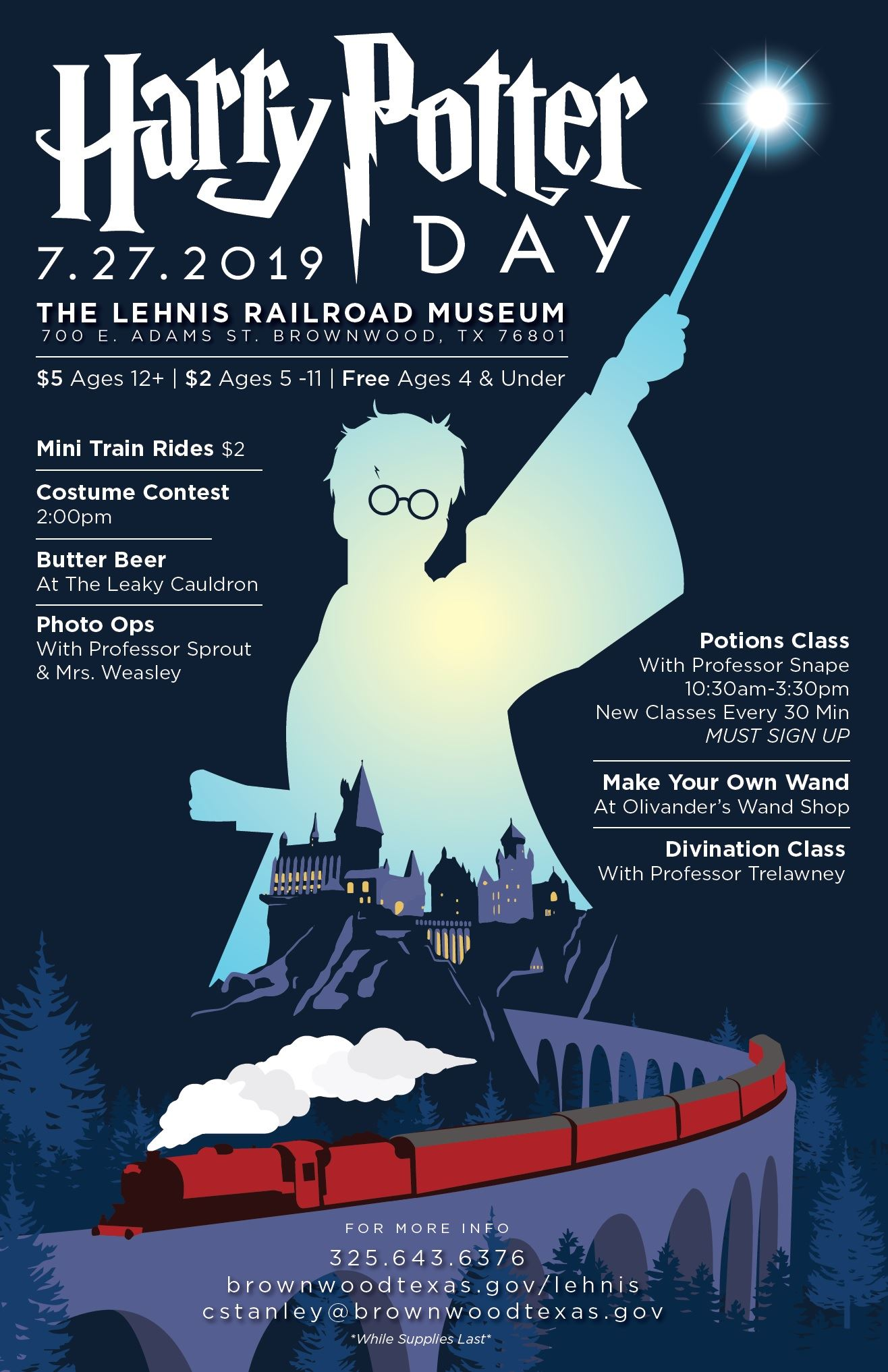 Harry Potter flyer